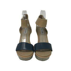 Steve Madden Women's Wedges Heel Sandal Size 8 US